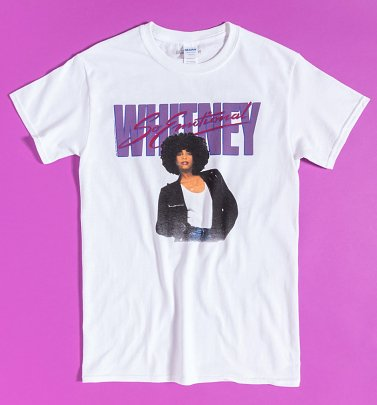 Whitney Houston So Emotional Album Cover T-Shirt