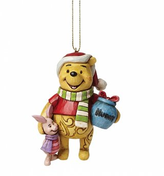 Winnie The Pooh Disney Christmas Hanging Ornament