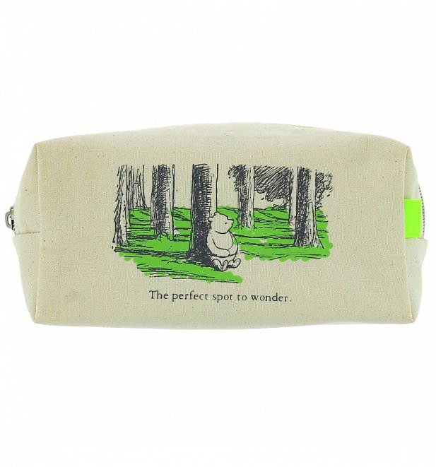 Winnie The Pooh Large Pencil Case