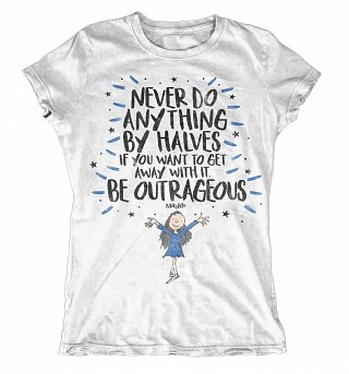 Women's Roald Dahl Be Outrageous T-Shirt