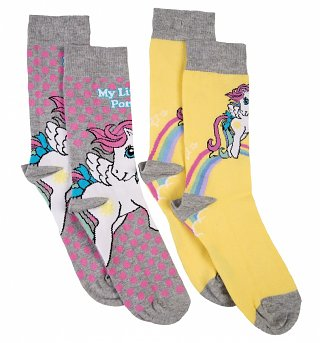 Women's 2pk My Little Pony Socks