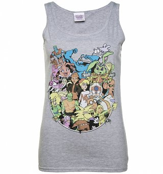 Women's 90s Cartoons Collection Vest