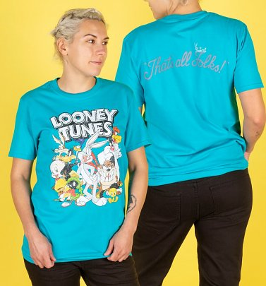 Aqua Looney Tunes T-shirt for Women