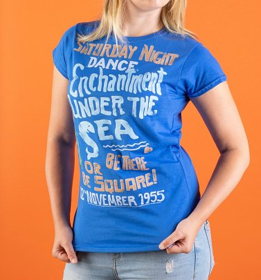 Women's Back to the Future Enchantment Under The Sea Fitted T-Shirt