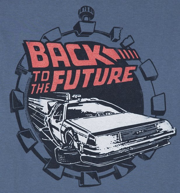 Women's Back to the Future Retro Delorean T-Shirt