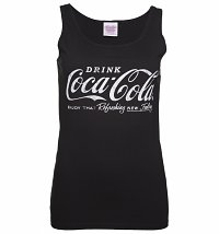 Women's Black Coca-Cola Logo Vest