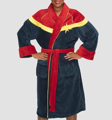 Women's Captain Marvel Dressing Gown