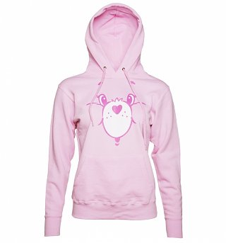 Women's Care Bears Cheer Bear Face Hoodie