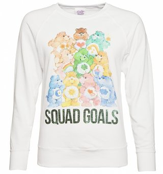 Women's Care Bears Squad Goals Jumper