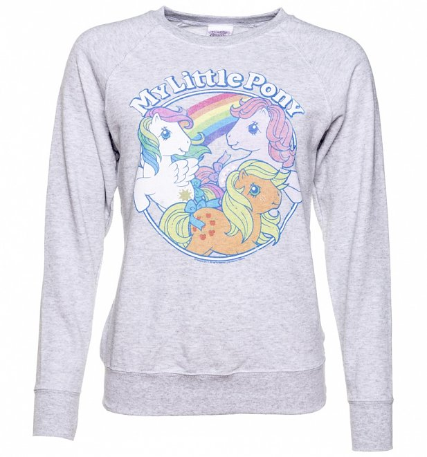 Women's Classic My Little Pony Grey Sweater