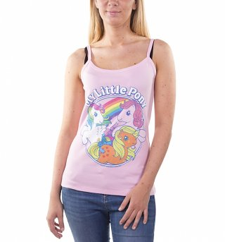 Women's Classic My Little Pony Light Pink Strappy Vest