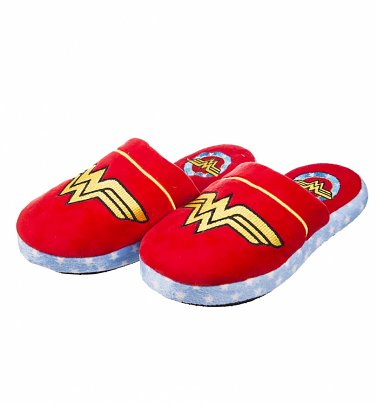 Women's DC Comics Wonder Woman Slip On Slippers
