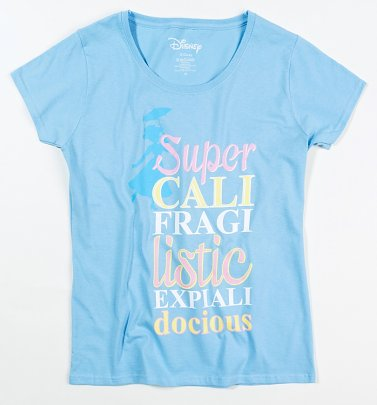 Women's Disney Mary Poppins Supercalifragilisticexplialidocious T-Shirt