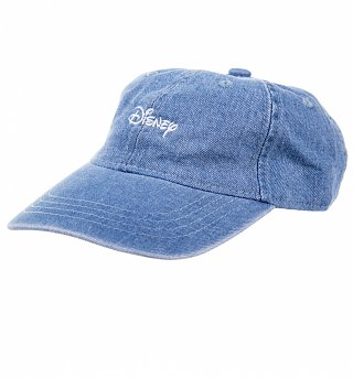 Women's Denim Classic Disney Logo Baseball Cap