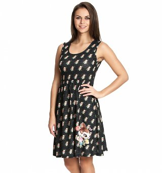 Women's Disney Bambi Flowers Dress
