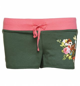 Women's Disney Bambi Hotpants