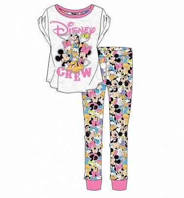 Women's Disney Crew Pyjamas