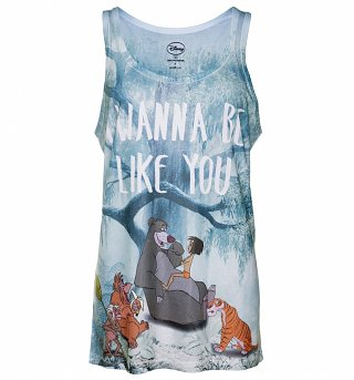 Women's Disney Jungle Book I Wanna Be Like You Sublimation Vest