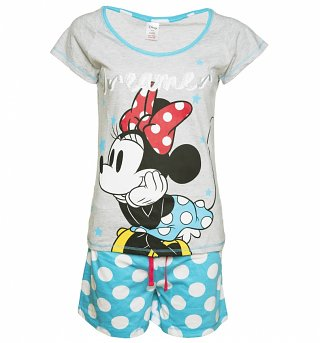 Women's Disney Minnie Mouse Dreamer Shortie Pyjamas