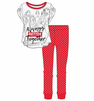 Women's Disney Princess Always Better Together Pyjamas