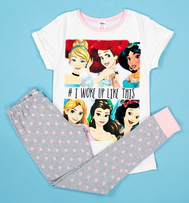 Women's Disney Princess Woke Up Like This Pyjamas