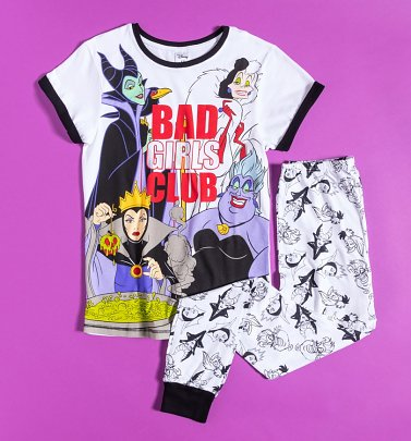Women's Disney Villains Bad Girls Club Pyjamas