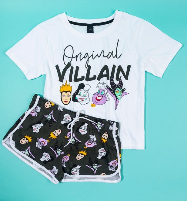 Disney Villains Original Witch Shortie Pyjama Set