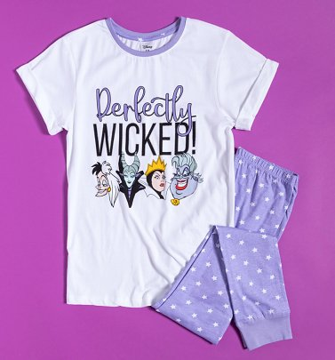 Women's Disney Villains Perfectly Wicked Pyjamas