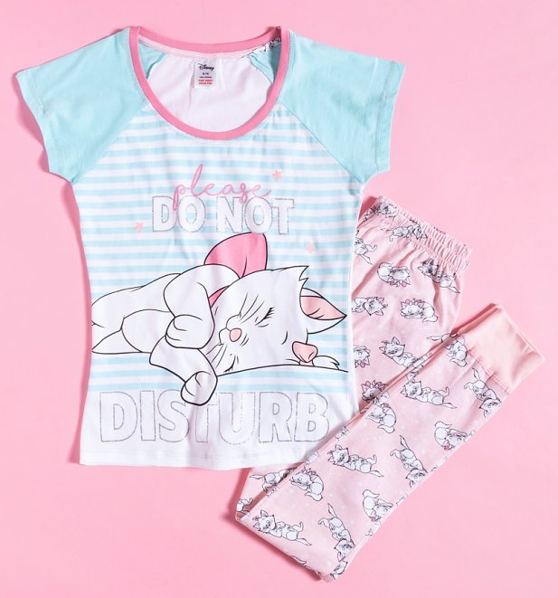 Women's Do Not Disturb The Aristocats Disney Pyjamas