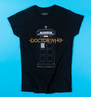 Women's Doctor Who 13th Doctor Logo T-Shirt