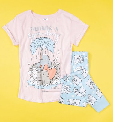 Women's Dumbo Everyday's A Spa Day Disney Pyjamas
