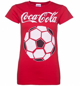 Women's Eat Football, Sleep Football, Drink Coca-Cola T-Shirt
