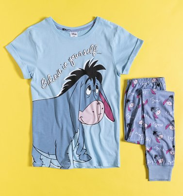 Women's Eeyore Believe In Yourself Disney Pyjamas
