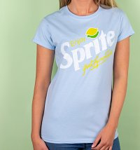 Women's Enjoy Sprite Light Blue T-Shirt
