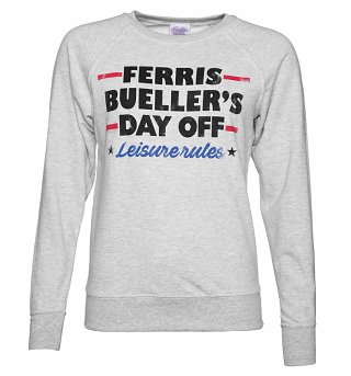 Women's Ferris Bueller Leisure Rules Sweater