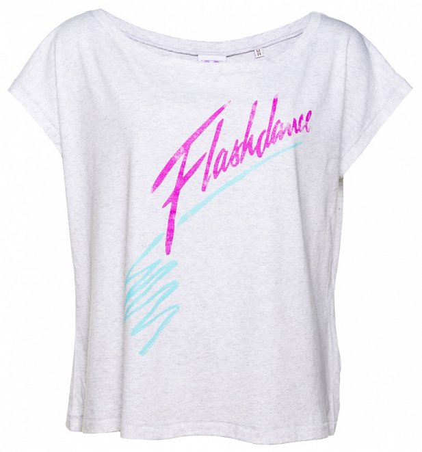 Women's Flashdance Logo Scoop Neck T-Shirt