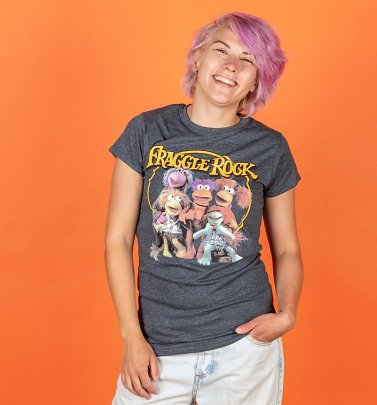 Women's Fraggle Rock Classic Gang Fitted T-Shirt