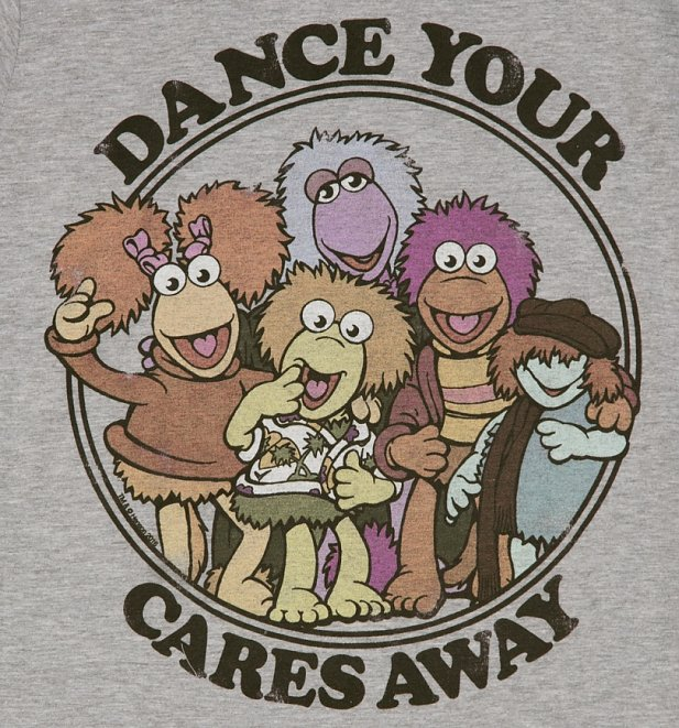 Women's Fraggle Rock Dance Your Cares Away T-Shirt