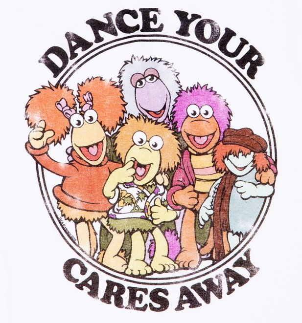 Women's Fraggle Rock Dance Your Cares Away Vest