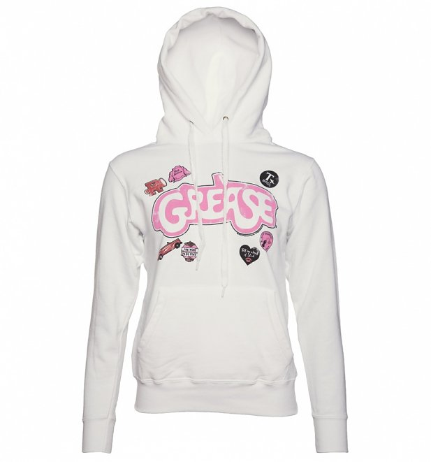 Women's Grease Badges Hoodie