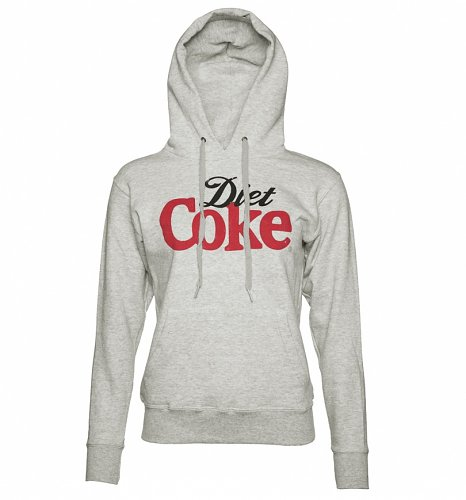 Women's Grey Diet Coke Hoodie
