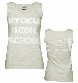 Women's Grey Rydell High Grease Cheerleading Vest