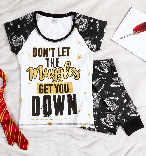 Women's Harry Potter Don't Let The Muggles Get You Down Pyjamas