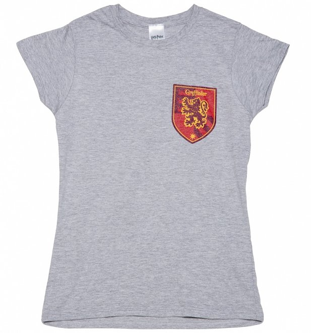 Women's Harry Potter Gryffindor Crest T Shirt