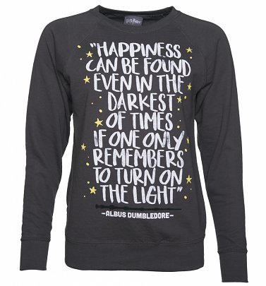 2d604bc1183 Women s Harry Potter Happiness Can Be Found Jumper