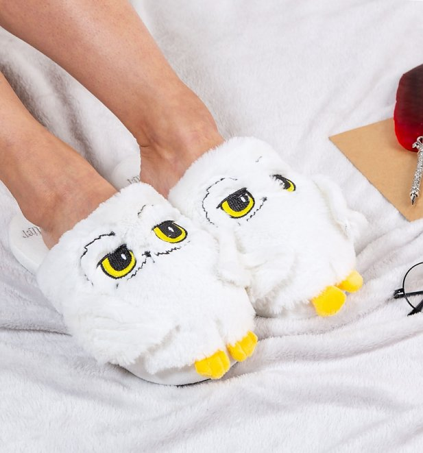 Women's Harry Potter Hedwig 3D Slippers