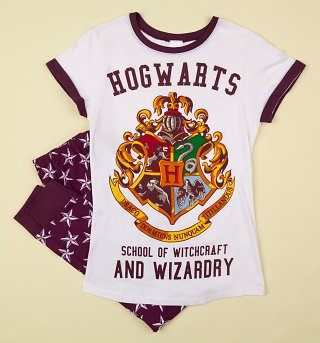 Women's Harry Potter Hogwarts Crest Pyjamas