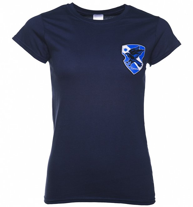 Women's Harry Potter Ravenclaw Crest T-Shirt