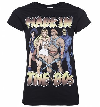 Women's He-Man Made in the 80's T-Shirt