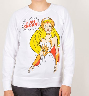 Women's I Am She-Ra White Sweater